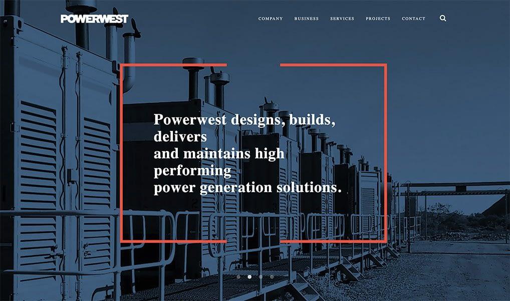 website for b2b powerwest