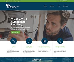 Web Designer for Cumberland Plumbing