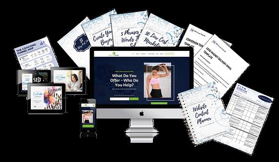 business coaching website bundle