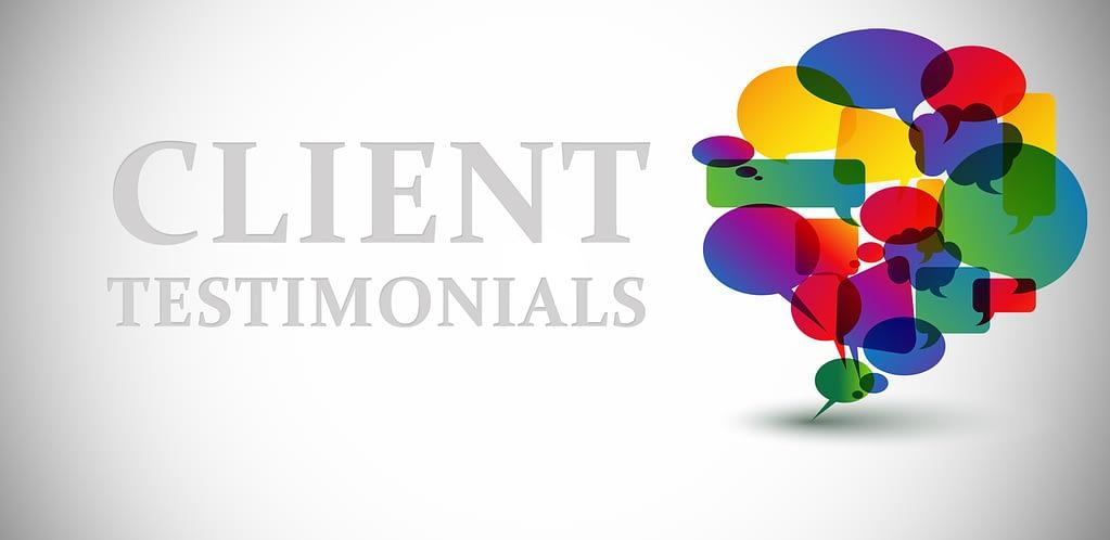 good client testimonials