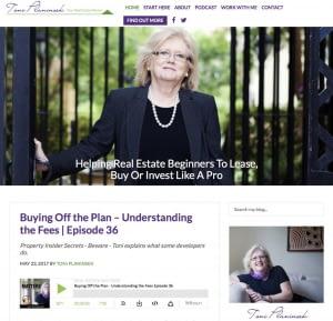 real estate coaching website design