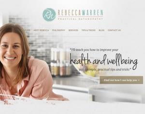 health coach website design