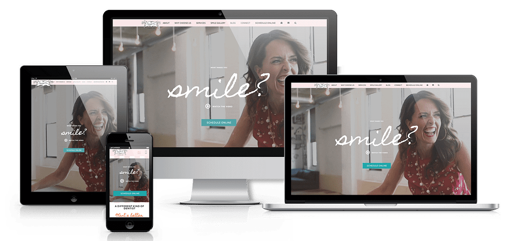 responsive website dentist