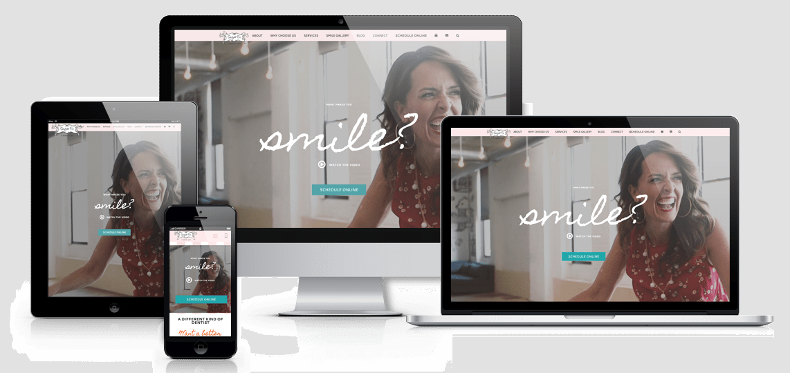 responsive website dentist