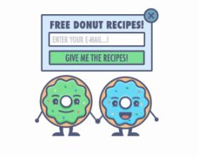 popup marketing